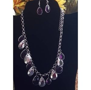 paparazzi Jewelry - Clique bait purple necklace